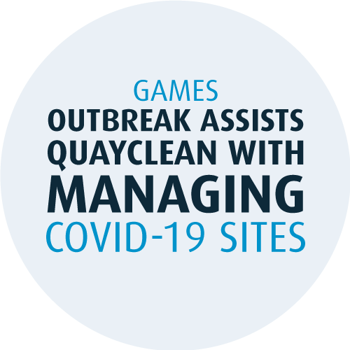 Games outbreak assists Quayclean with managing COVID-19 (coronavirus) sites
