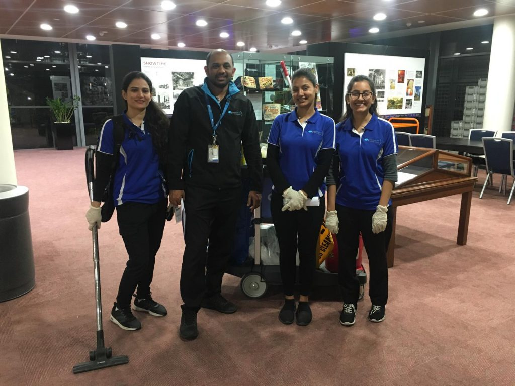 The Quayclean team at Sydney Showground