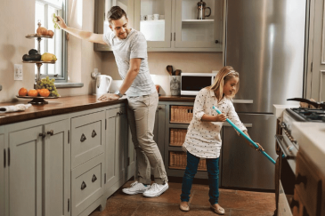 Everyone can lend a helping hand to keep our homes clean and families free from harm.
