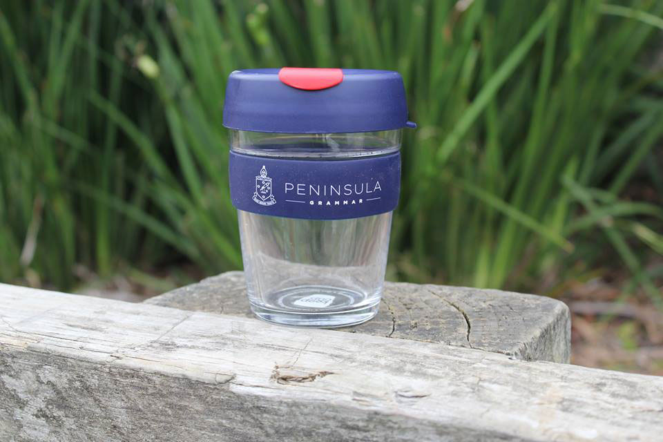 Peninsula Grammar reusable cup